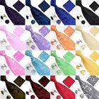 U Business Men's Solid Ties Neckties Tie Hanky Cufflinks Sets 2014 Hot Selling