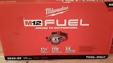 Milwaukee Cordless 12V M12 Fuel 5-3/8 in. Circular Saw 2530-22 New