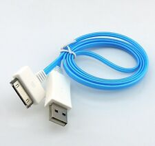 Visible Led UP USB Cable For iPhone 4S 4 iPad 1 2 3 Charger Data Lead Wire