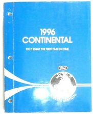 1996 LINCOLN CONTINENTAL  SERVICE REPAIR  MANUAL