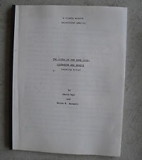 Original 1970s TV Movie Script Two Sides of the Same Coin by David Man