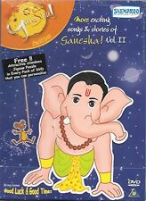 EXCITING SONGS & STORIES DI GANESHA - VOL 2 - NUOVO SHEMAROO DVD –