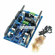Dual 2SA1494 2SC3858 Stereo Amplifier Board 300w + 300w w/ Speaker Protection