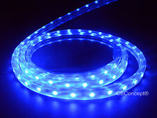CBConcept®UL Listed,100 Feet,10100 Lumen,Blue,120 Volt Flat LED Strip Rope Light