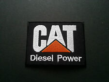 HEAVY METAL PUNK ROCK MUSIC SEW / IRON ON PATCH:- CAT (a) DIESEL POWER