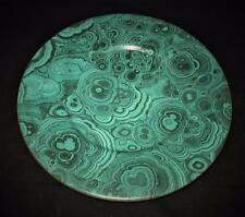 "Christian Dior GAUDRON MALACHITE Green Marble Charger 12 3/4"" Across Chop Plate"
