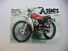 advertising Pubblicità 1975 MOTO ASPES NAVAHO ECO