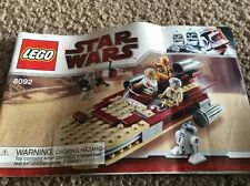 Lego 8092 Luke's Landspeeder Instructions Only