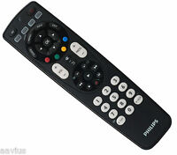 Philips Glow in Dark Perfect Replacement Remote Control for TV VCR DVD SAT Cable