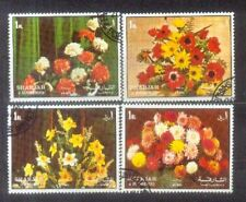 Sharjah Flowers Stamps