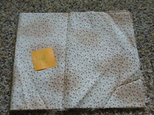 1 YD Quilt Sewing Fabric Tea Dyed Beige with Dark Red Design D's Selections Kona