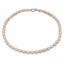 "Lily Treacy Pink Freshwater Pearl Raisa Strand Necklace 18"" wedding bridal Gift"