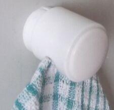 Pack de 3 kleeneze détenteurs de serviette-peut être fixé par vis ou collant back pads