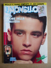 IL MONELLO n°14 1987 Cindy Lauper + Inserto EUROPE Joey Tempest   [G426]