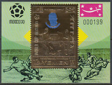 Yemen Kgr 1970 ** Bl.A199 Fußball Football Weltmeisterschaft World Cup Mexiko