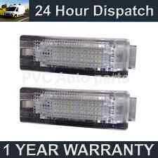 2X FOR VW TOUAREG TOURAN TRANSPORTER TIGUAN SHARAN 18 WHITE LED BOOT LAMPS