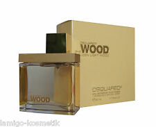 DSQUARED² 2 SHE WOOD GOLDEN LIGHT WOOD POUR FEMME Eau de Parfum EDP 50ml.