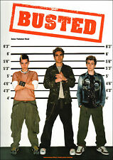 BUSTED FOR GUITAR TAB & VOCALS Sheet Music Book Chord Symbols Songbook S/Soiled