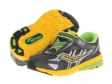 Saucony Boys  Sneakers Grey/Yellow/Slime Infants/Little Boys  Size 5 1/2 M