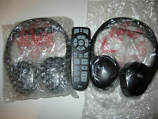 CHRYSLER,DODGE,JEEP,VW ROUTAN WIRELESS HEADPHONES VES+2CHANNEL REMOTE NEW