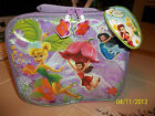 Disney Tinkerbell TINK SQUARE LUNCH BOX Soft Side School Girls pink purple NEW