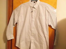 "NEW "" DEVON & JONES"" MEN'S  DRESS BLUE SHIRT...SIZE 2XL...w/ BUTTON DOWN COLLAR"