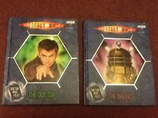 Doctor  Who Files - Set Of 2 Books - #1 The Doctor - #7 The Daleks