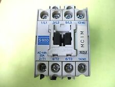 Used Mitsubishi Magnetic Contactor S-N10 200-220VAC shipped from USA