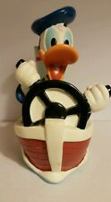 Donald Duck Bank Tug Boat Captain Justoys/ Vinyl
