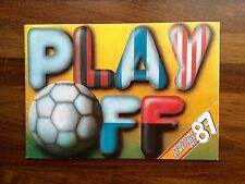 Álbum Fútbol Play Off 1986-87 Edic Barna