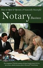 How to Open and Operate a Financially Successful Notary Business : With...