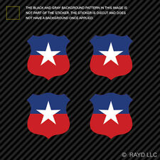 "(4x) 1.5"" Chilean Air Force Roundel Sticker Die Cut Decal FACh Chile CHL CL"