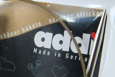 """ANY 4 Pairs addi Premium Circular Knitting Needles 32"""", 2mm to 5mm (US #0 to 8)"""