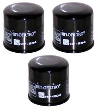 HiFlo (3) Pack Oil Filters Yamaha YFM550 Grizzly FI 4x4 Auto 2009-2013