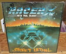 RACER X STREET LETHAL LP PAUL GILBERT BANZAI CANADA BRC 1989 IN SHRINK EX SHRED