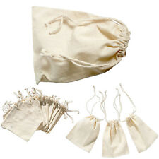 Mini Burlap Natural Linen Sack Jewelry Pouch Drawstring Spices Wedding Bags Gift