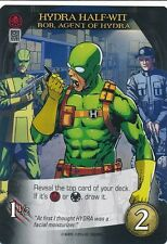 BOB, AGENT OF HYDRA Upper Deck Marvel Legendary DEADPOOL HYDRA HALF-WIT