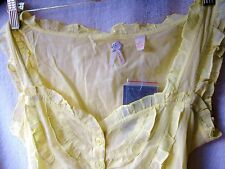 NEW ANTHROPOLOGIE Top Blouse by MAEVE YELLOW Size: 10