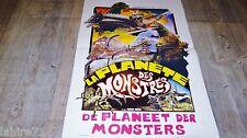 LA PLANETE DES MONSTRES  ! ishiro honda  affiche cinema 1976