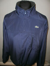 "Lacoste Half Zip Wind Breaker Jacket Fleece Lined  Size 6 ""excellent"""