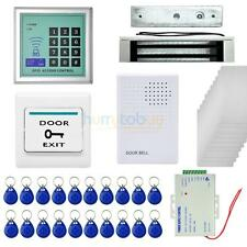 400 LBs Kit Electric Door Lock Magnetic Access Control ID Card Password System