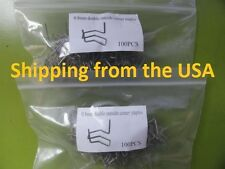 0.8mm 200 DOUBLE OUTSIDE CORNER HOT STAPLER STAPLES - PLASTIC WELDER STAPLES