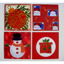 8 Assorted Christmas Gift Wrappers for CD's - Perfect to Gift Wrap CD presents