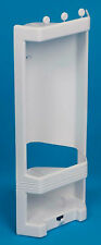 Pims Shower Corner Caddy Shelf White Plastic