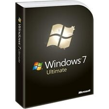 Windows 7 Ultimate COA SOLO CHIAVE 32bit 64bit parti originali + PC