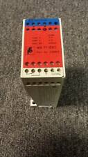 PEPPERL+FUCHS WE77/EX-1 ISOLATION AMPLIFIER SWITCH RELAY 115V    B55