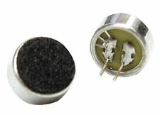 OMNIDIRECTIONAL ELECTRET CONDENSER MICROPHONE INSERT 9.7MM - PACK OF 2