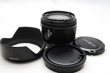 MINOLTA AF 24mm f/2.8 wide angle lens [Excellent+++] A-Mount Sony A from Japan