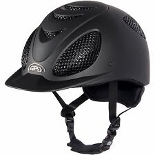 GPA Speed Air Evolution Helmet 6 7/8 Blk/Blk