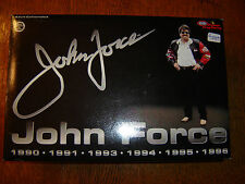 1996 John Force 6X Champion Pontiac Funny Car Action 1/24 Diecast Autographed